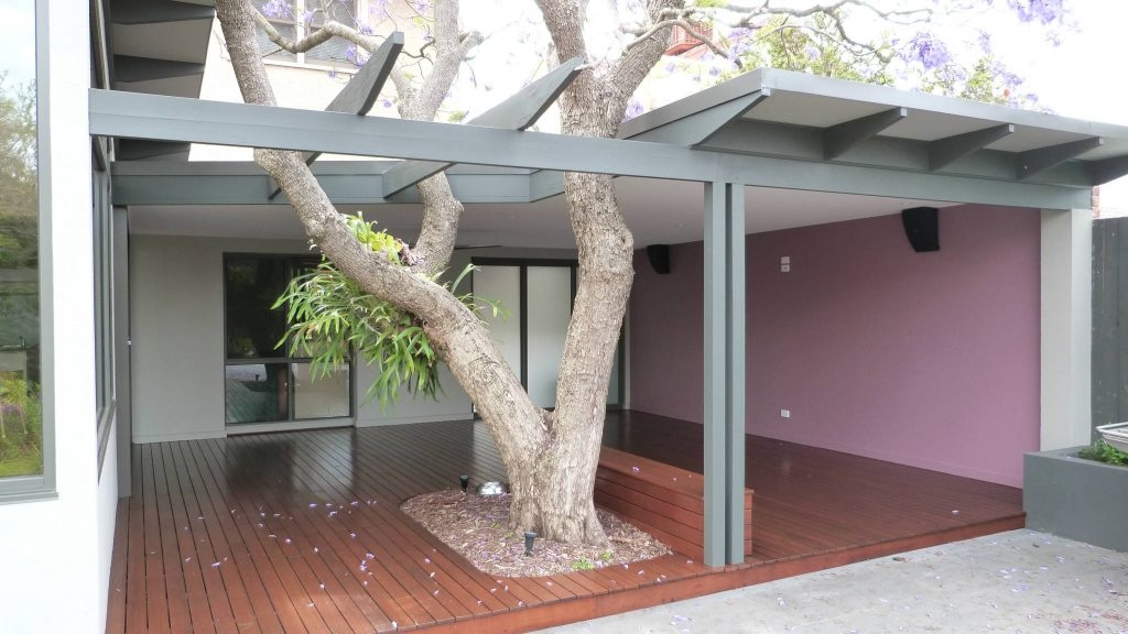 Alfresco With Open Pergola Ormond Melbourne