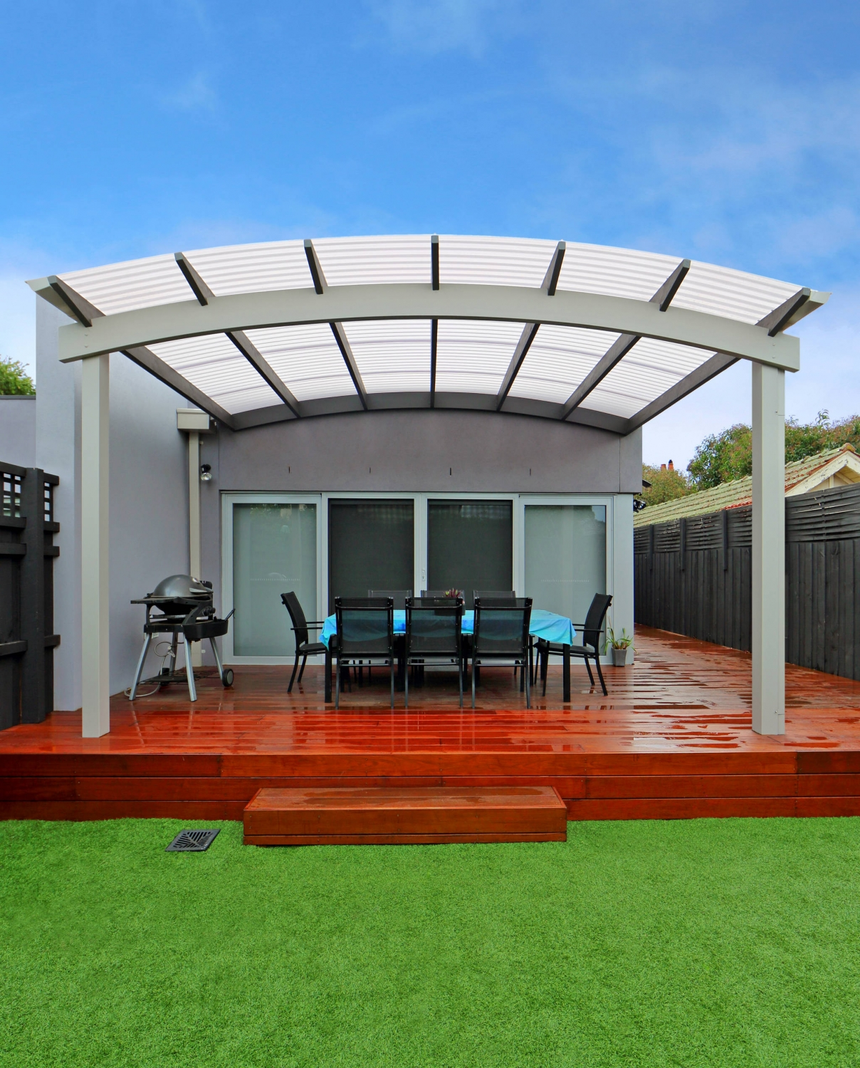 Curve Roof Verandah East Brighton Melbourne