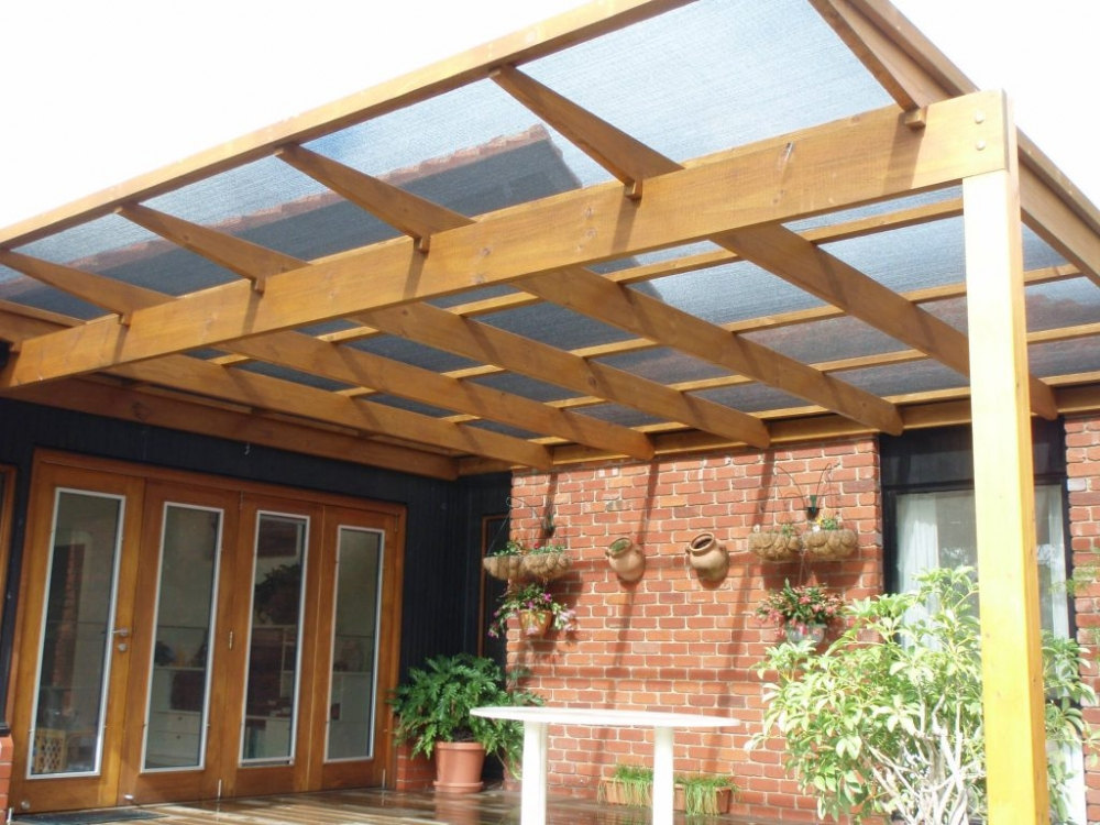 Pergola With Shade Cloth Glen Waverley Melbourne